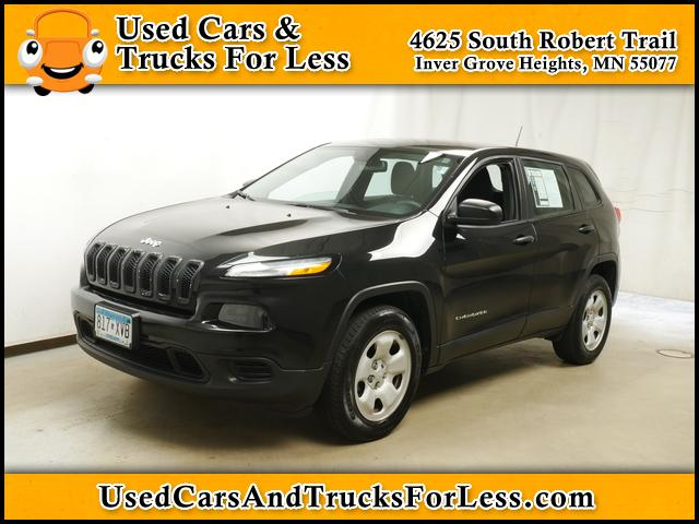 Cherokee For Less >> Pre Owned 2016 Jeep Cherokee For Sale Inver Grove Heights Mn West
