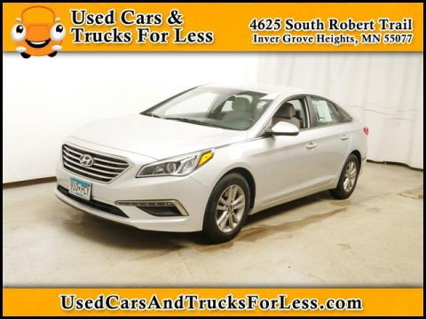 Pre-Owned 2015 Hyundai Sonata FWD Sedan